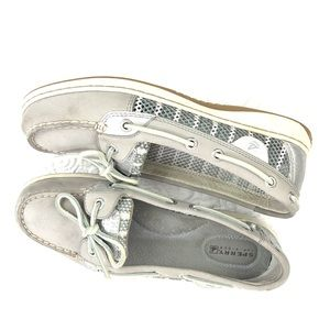 Sperry Topsider Women's Size 7M Silver
